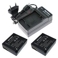 2Pcs High Capacity DMW BLG10 DMW BLG10 DMWBLG10 Battery Charger For Panasonic DMC GF6 GX7 GX80