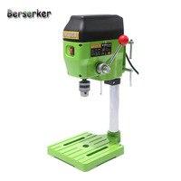 Berserker mini furadeira bancada pequena máquina de perfuração bancada de trabalho velocidade ajustável plug ue 580 w 220 v BG-5169A