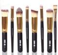 Comercio al por mayor Maquillaje Profesional Kit Cosmético del Cepillo 8 UNIDS Eyeshadow Fundación Nariz
