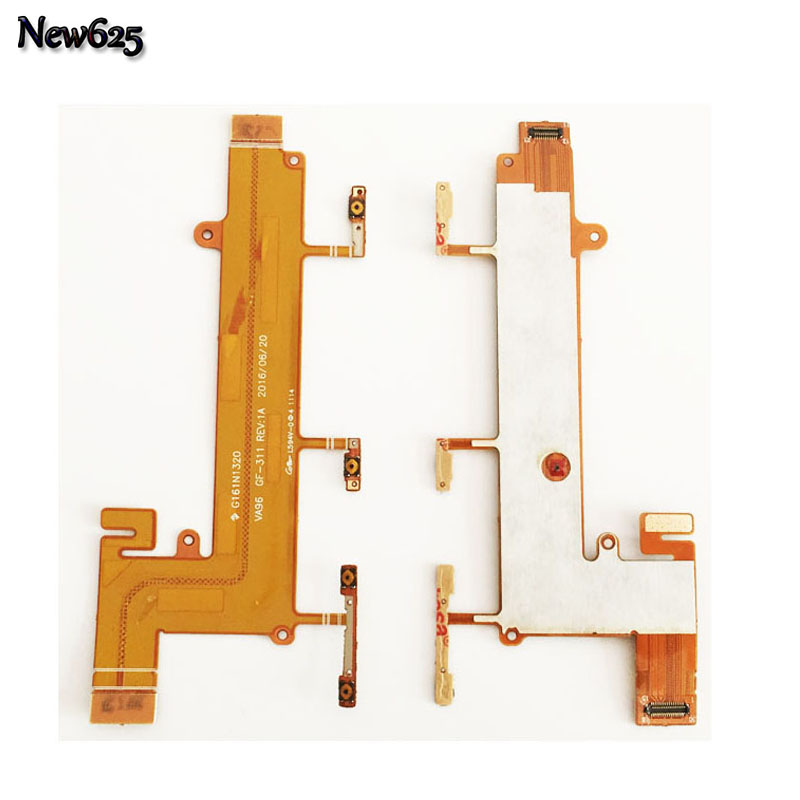 Original Power On Off Switch Volume Side Button Flex Cable For <font><b>Nokia</b></font> Lumia <font><b>1320</b></font> 625 Replacement <font><b>Parts</b></font> image
