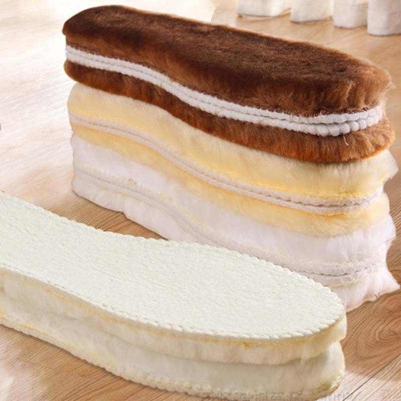 NANCYTINO Sıcak Isıtmalı Tabanlık Ayakkabı Tabanı Kış Kalın Ped Sıcak Tabanlık Taklit Yün Nefes Kar Botları Kürk Tabanlık Ped
