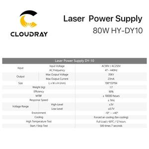 Image 5 - Cloudray fuente de alimentación láser DY10 Co2 para máquina de grabado/corte de tubos láser Co2, Series