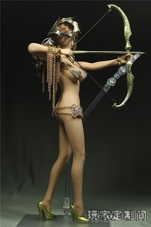 Custom 16 Phicen Clothes Sexy Woman Warrior Set 16 -7313