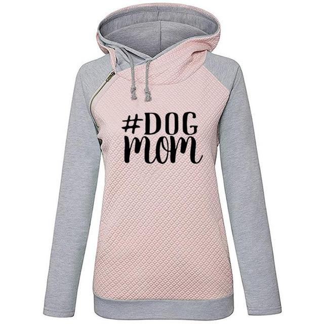 Women's Lettered Printed Hooded Sweatshirt