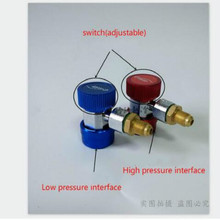 ar condicionado aire acondicionado air conditioner r134a Hose fluorine Quick connector refrigerant pipe adjustable