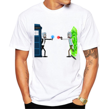Rick and Morty Time and Space MEN T-shirt