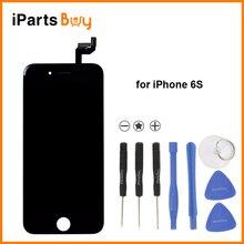 Ipartsbuy para iphone 6 s sin píxeles muertos lcd pantalla + herramientas gratuitas de reparación + touch screen reemplazo digitalizador asamblea