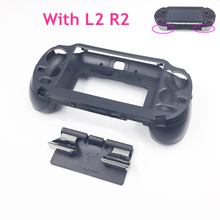 E house for PSV1000 PSV 1000 L3 R3 Hand Grip Game Console Stand Case with L2 R2 Trigger Button for PS VITA 1000