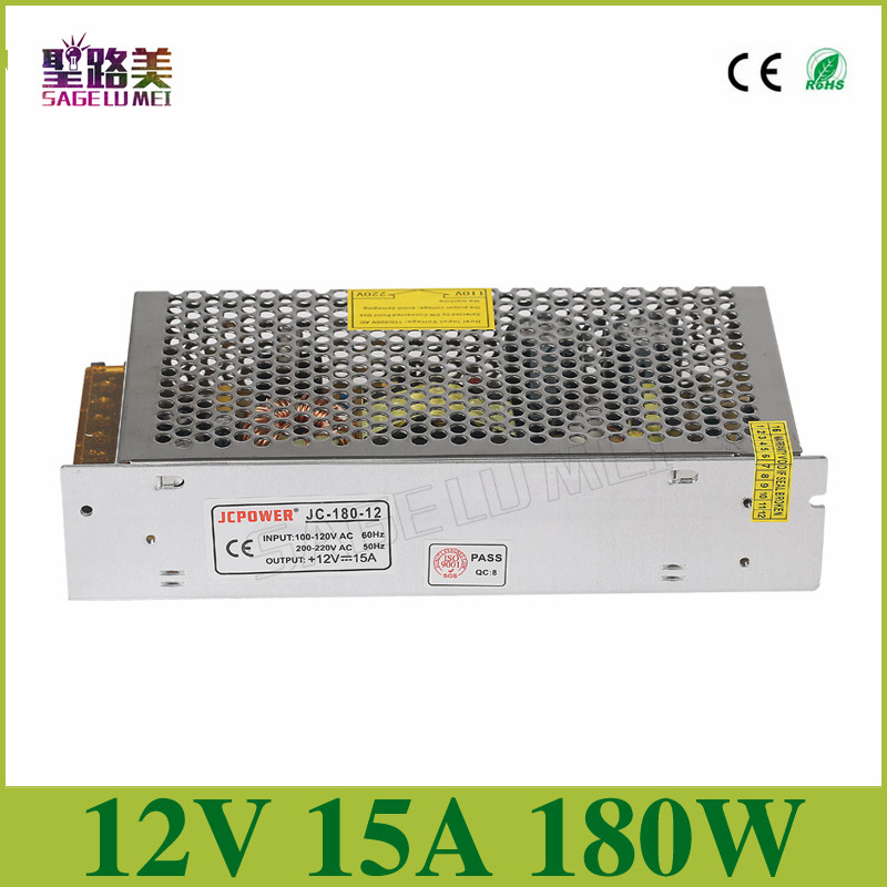 2016-New-Version-Best-quality-12V-15A-180W-Switching-Power-Supply-Driver-for-LED-Strip-AC 2