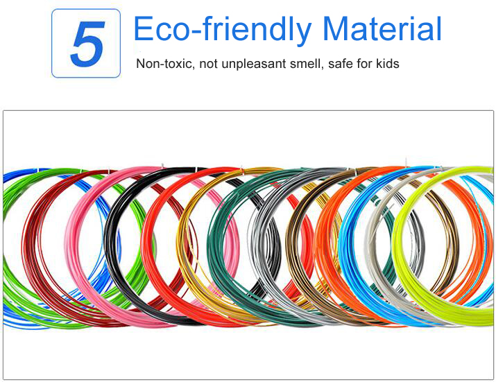 1.75MM PLA Filament Materials For 3D Printing Pen Threads Plastic Printer Consumables DIY Gifts toys for Kids GYH 17