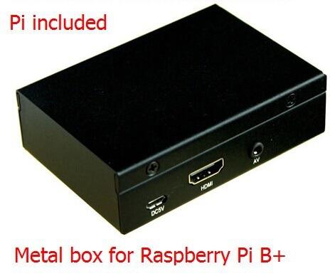 ФОТО Metal Box High Quality Case / Box / Shell for Raspberry Pi B+ model b plus