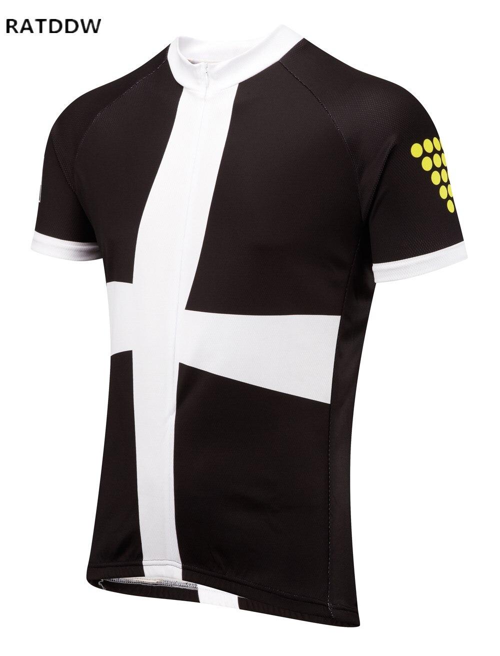 Ropa Ciclismo !! Muži Cornwall Road Cyklistika Jersey Cyklistické oblečení s krátkým rukávem Cyklo Jersey Rychleschnoucí horské oblečení Ciclismo