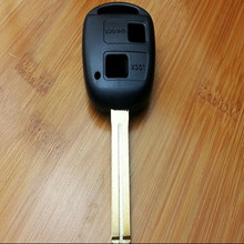 Good Quality For Lexus Remote Key Shell 2 Button TOY48 (Long) 46mm WITH LOGO