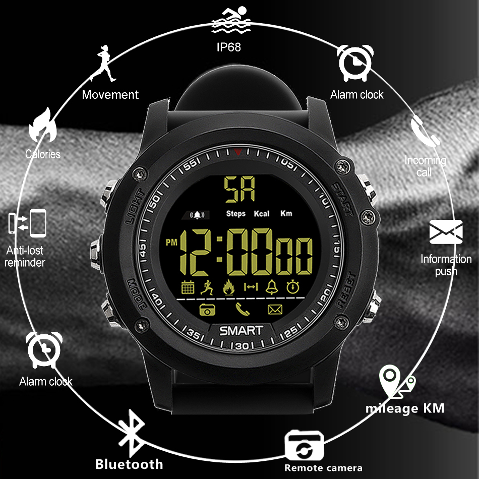 Honest Sports Watches Men Pedometer Calories Digital Watch Women Altimeter Barometer Compass Thermometer Skmei Weather Reloj Hombre Digital Watches Men's Watches