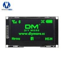 """Écran LCD numérique 12864 128X64 vert OLED Module daffichage C51 carte pour Arduino bricolage électronique 2.42 """"2.42 pouces SSD1309 STM32"""
