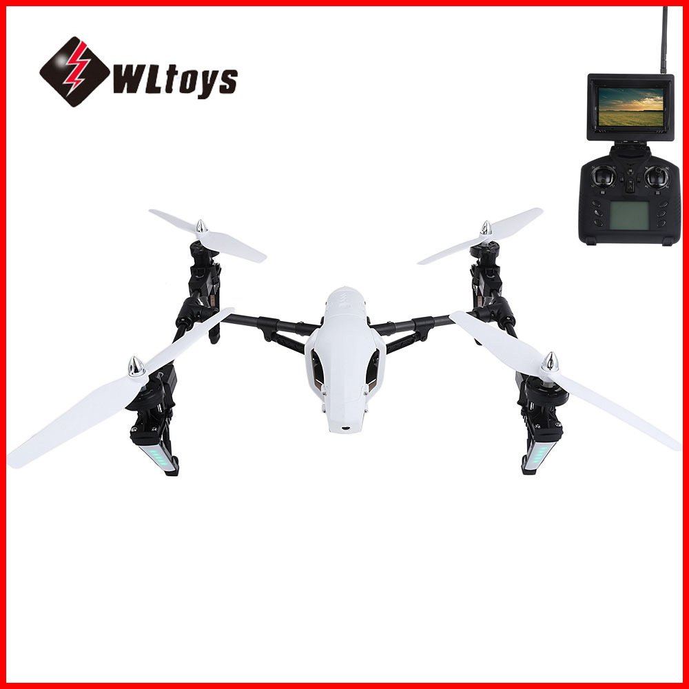 WLtoys Q333-A WLtoys Q333-B RC quadrirotor WiFi FPV 4CH 6 axes Gyro RC quadrirotor avec caméra hD RTF avion Drone RC