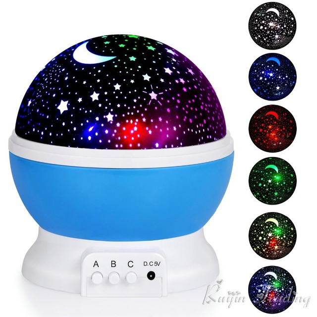 Night Sky Rotating Projection Lamp