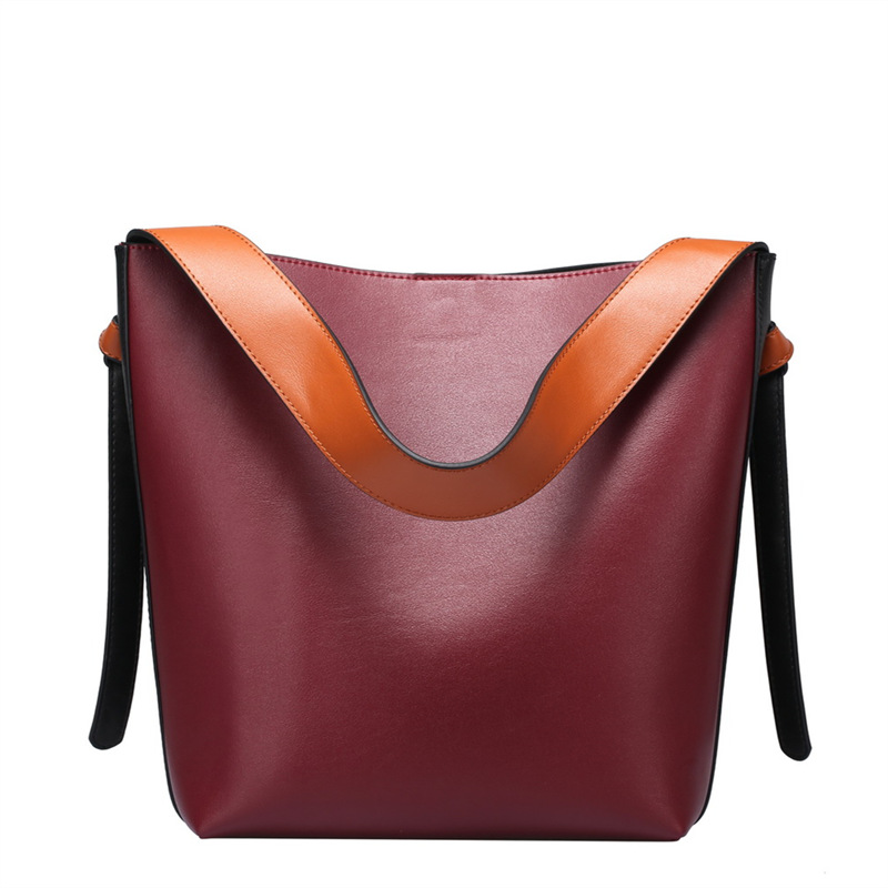 Nesitu New High Quality Designer Luxury Grey Green Red Split Leather Women Shoulder Bags Shopping Bag Handbags Totes #M0754Nesitu New High Quality Designer Luxury Grey Green Red Split Leather Women Shoulder Bags Shopping Bag Handbags Totes #M0754
