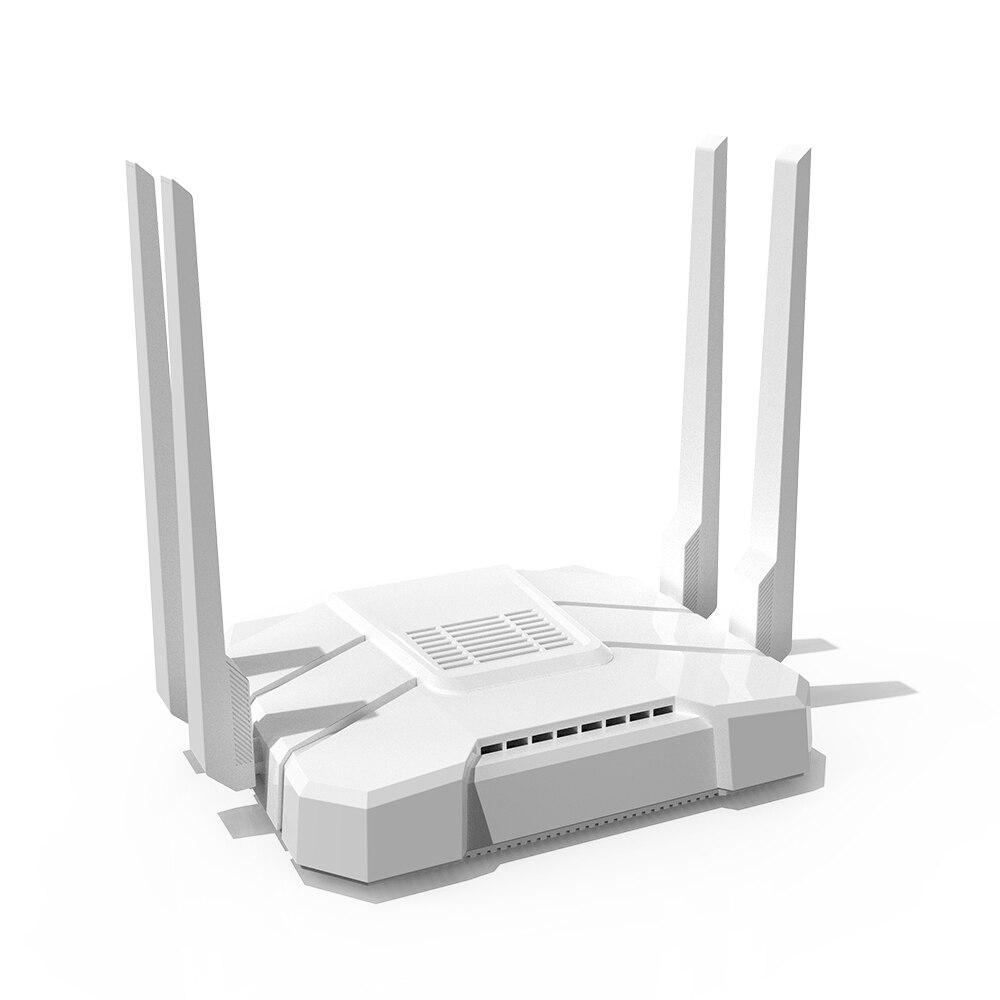 Image 5 - La MT7621 gigabit dual banda router wifi con OpenWrt openvpn router inalámbrico GSM 802.11AC 1200Mbps 2,4G 5G MTK solución inalámbricaRúteres inalámbricos   -