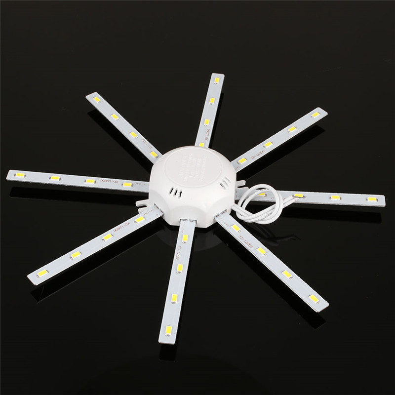 1pc Led Ceiling Lamp Tube Energy Saving Indoor Lamp High Bright 16w 220v Pcb Board Modified Bulb Plate Octopus Lights Ceiling Lights
