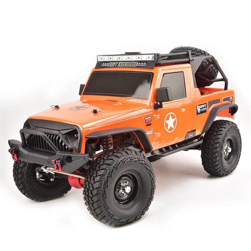 RGT EX86100 PRO Kit 1/10 2.4G 4WD Rc voiture escalade électrique chenille sans pièces électroniques RC voiture jouets de plein air véhicule jouet