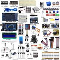 New DIY Electric Unit Ultimate Starter Kit For Arduino MEGA 2560 1602 LCD Servo Motor LED
