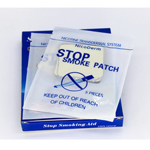 1box=30patches Health Care Quit Smoking Patch Natural Anti Smoking Nicotine Patches zink n nicotine
