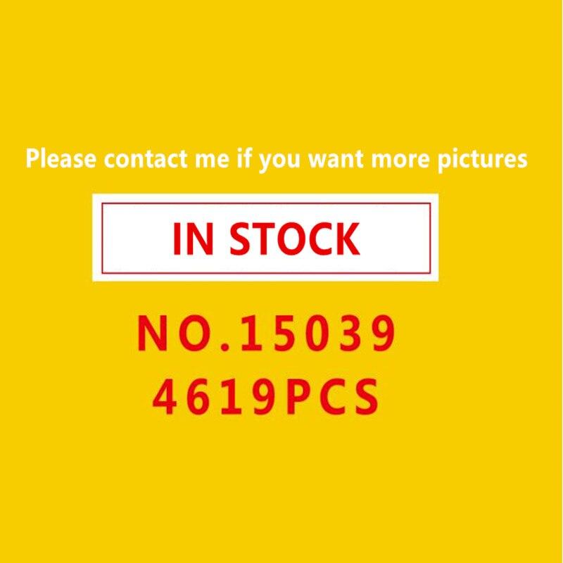 Dans stock15039 Rouleau Drôle Modèle Coaster Ensemble legoing10261 4619 pcs Bâtiment Série Buidling Blocs Briques Enfants Jouets Ville