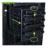 """Plástico y acero 4 Bays SSD protegen la caja para 2.5 """" 3.5 """" SATA SAS IDE HDD Case 4-bay externa SSD estación de acoplamiento"""