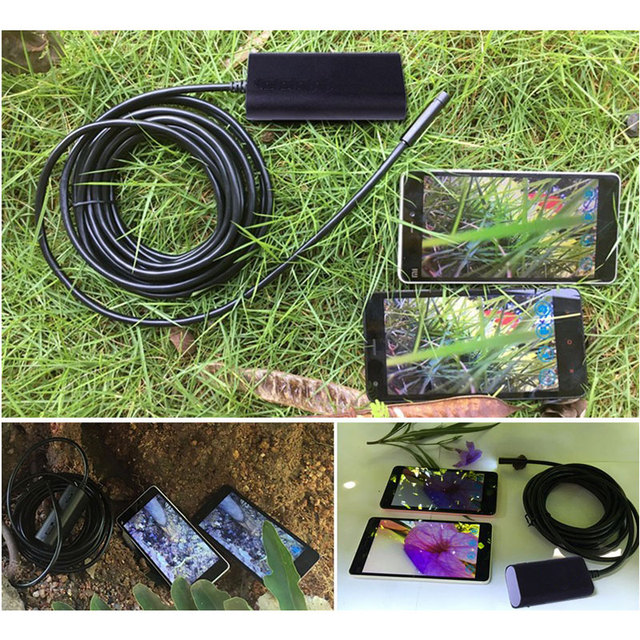 Wifi Wireless For iPhone Android Endoscope HD 720P 2.0MP 8mm 5m Camera Scope