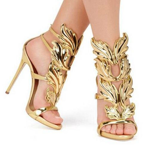 Online Shop HOT Sale Leaves Design Women Pumps 8 Color Rome Style ...
