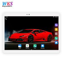 10 Inch Tablet PC 1280×800 IPS Octa-core 4G RAM 32GB 64GB ROM 3G WCDMA/2G GSM 2 SIM Phone Bluetooth WIFI AGPS Android 7.0 OS