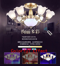 Name Brand New Arrival Modern Luxury Fashion Drawing Room Bedroom LED Ceiling Chandelier Light with IR remote control 70cm Dia(China)