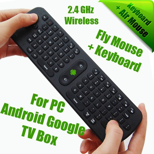 c82a8712769 Android TV Box Partner, 2.4GHz Mini Wireless Bluetooth, Fly In Air Mouse +  Keyboard for PC for Android Google TV BOX, Wholesale