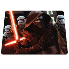 Hot Fashion Star Wars Luxury Print Gaming Mousepad Gamers Anti-Slip Durable Rubber Mousemat for Optical Computer Desk Mice Mat
