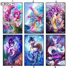 5D diy deimantiniai siuvinėjimai drakonas, gyvenantis jūroje, deimantų tapyba, kryžminis stilius, pilnas kvadratinis ir apvalus gręžimas, mozaikos apdailos komplektas