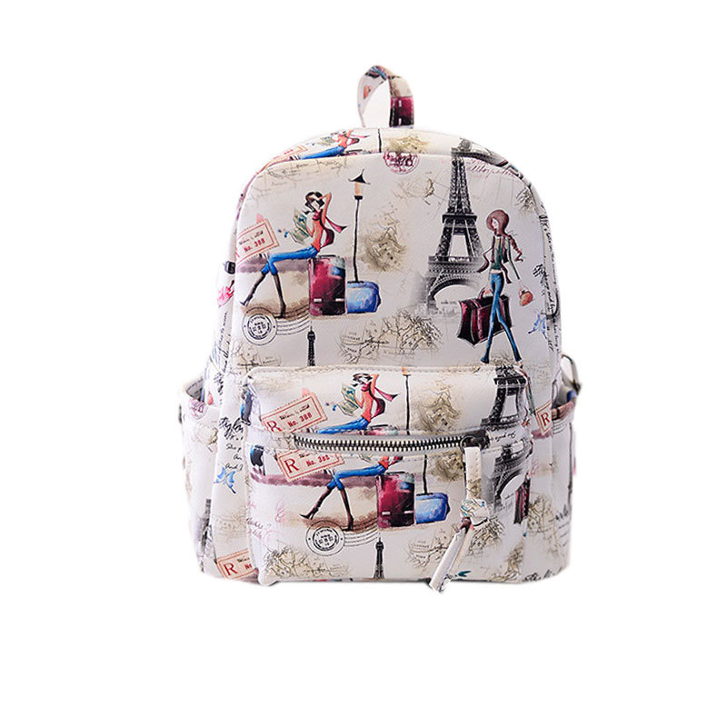 Popular Paris Backpack-Buy Cheap Paris Backpack lots from China ...