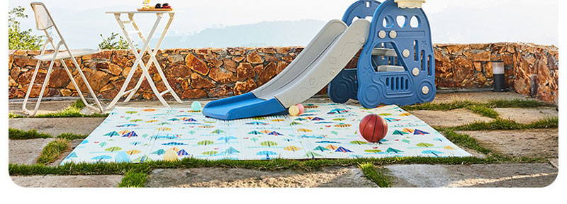 XPE Baby Play Mat Crawling Mat Double Surface Baby Carpet Rug Developing Mat for Children Game Pad Game Pad Children Room Decor