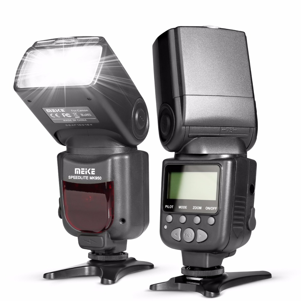MEKE Meike MK 950 E-TTL TTL Speedlite Camera Flash for Canon EOS 5D II 6D 7D 50D 60D 70D 550D 600D 650D 700D 580EX 430EX 2017 new meike mk 930 ii flash speedlight speedlite for canon 6d eos 5d 5d2 5d mark iii ii as yongnuo yn 560 yn560 ii yn560ii