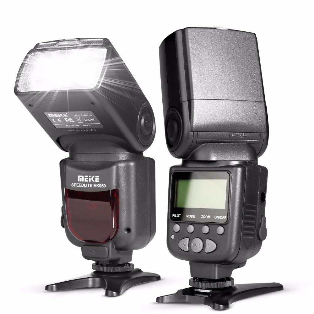 MEKE Meike MK 950 E-TTL TTL Speedlite Camera Flash for Canon EOS 5D II 6D 7D 50D 60D 70D 550D 600D 650D 700D 580EX 430EX ismartdigi lp e6 7 4v 1800mah lithium battery for canon eos 60d eos 5d mark ii eos 7d