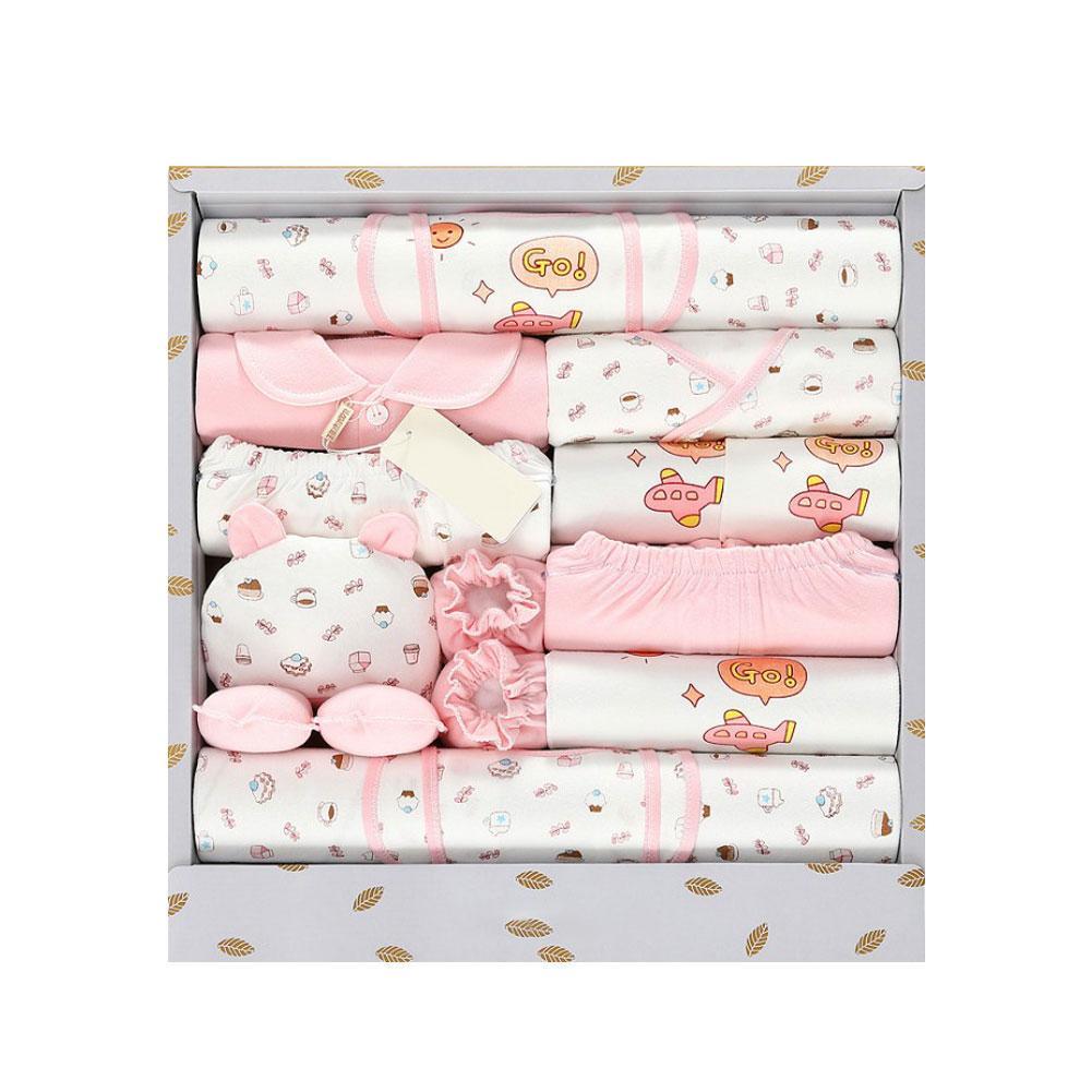 3 Color 18PCS New Baby Clothes Newborn Gift Box Set 0 3 ...
