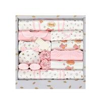 3 Color 18PCS New Baby Clothes Newborn Gift Box Set 0 3 Months Newborn Full Moon Baby Supplies
