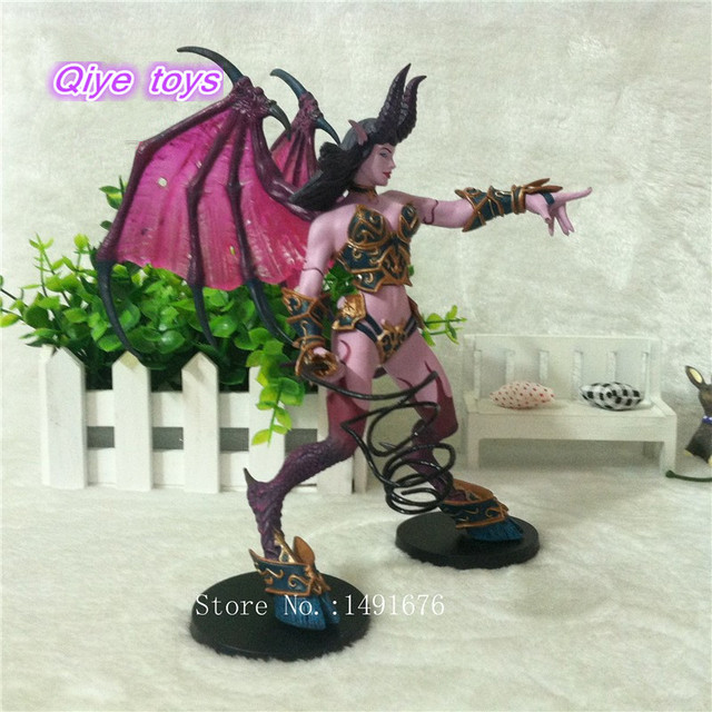 WOW Figure Toy DC Banshee / Succubus Mages 20CM PVC Action Figure Classic Toys For Boys Collection Model 2