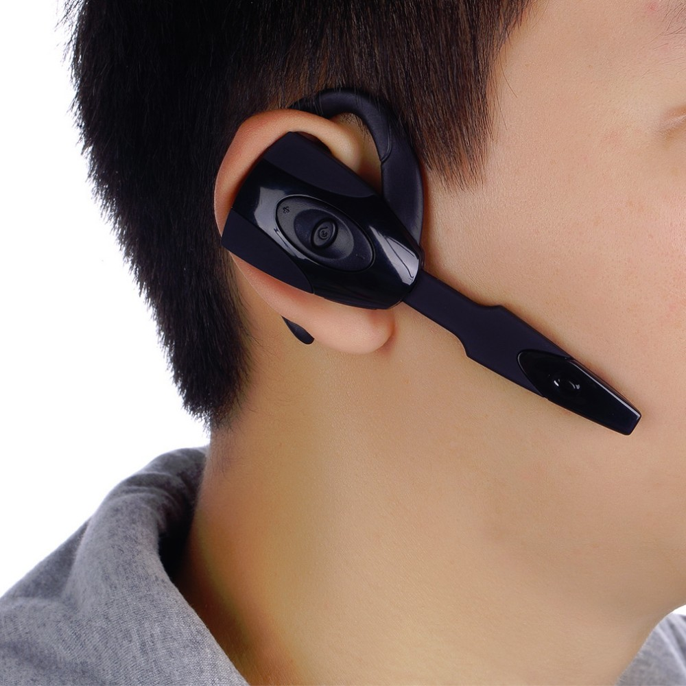 Stereo Wireless Bluetooth Headphone Earphone mini handfree ear hook headset With Mic microphone For Sony PS3 Smart Phone Tablet