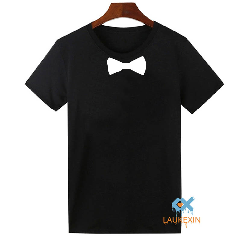 fun t shirt mens mit krawatte anzug fliege ska smoking tie. Black Bedroom Furniture Sets. Home Design Ideas