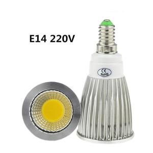 Image 5 - 10X led bulb GU10 220V  9W 12W 15W LED lamp lighting 110V dimmable bombillas E14 E27 GU5.3  MR16 12V  LED COB Spot light