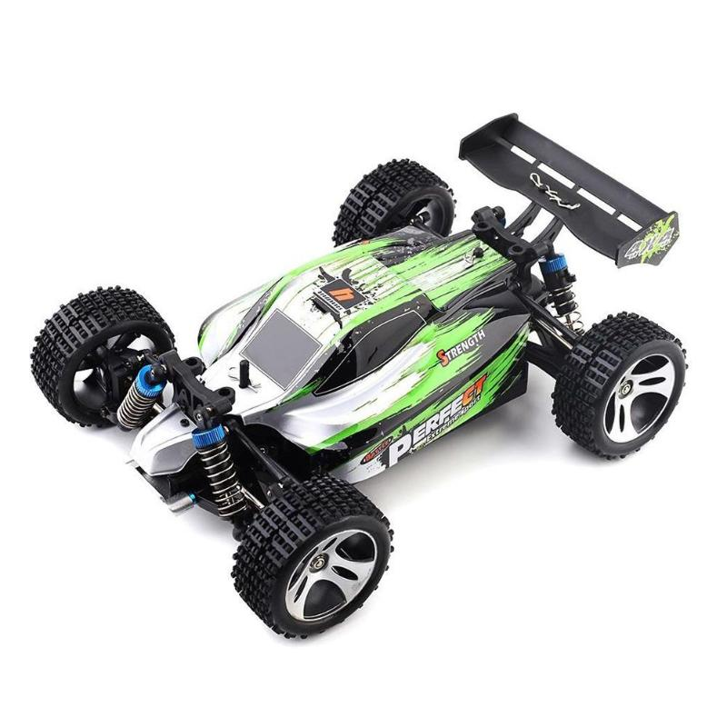 RC Car A959-A Brushed 1:18 Scale 40km/h Remote Control 4WD High Speed Vehicle Electric Off-road Crawler Racing Cars Gifts 1 24 4wd high speed rc racing car bg1510 rc climber crawler electric drift car remote control cars buggy off road racing model