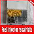 Бесплатная доставка  комплект для ремонта топливного инжектора  включая фильтр топливного инжектора  уплотнительное кольцо  пластиковая к...