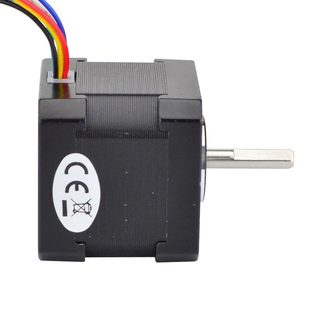 Unipolar 6 Lead Nema 17 Stepper Motor 39mm 42 42bygh 26ncm Wiring 26ncm37ozin 04a 12v For Diy Cnc 3d Printer In From Home Improvement On
