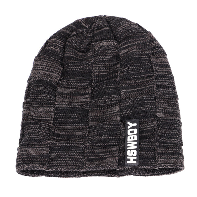 2019 Winter Beanies Men Scarf Knitted Hat Caps Mask Gorras Bonnet Warm Baggy Winter Hats For Men Women Skullies Beanies Hats 1